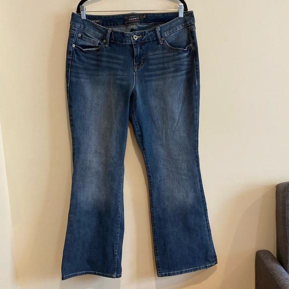 TORRID Slim Boot Cut Blue Jeans women's size 18R